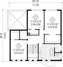 plan de maison 3 chambres salon plan de maison 2 chambres salon cuisine