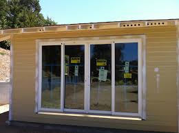 Modern Exterior Sliding Glass Doors by 4 Panel Sliding Glass Patio Doors