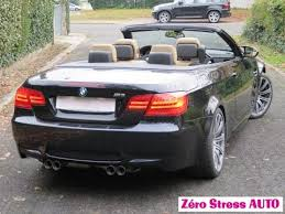 bmw m3 decapotable bmw m3 v8 420 e93 dkg coupé cabriolet m performance zerostressauto