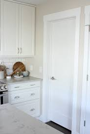 flat kitchen cabinet doors makeover shaker style trim and doors the makeover details satori