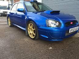subaru blobeye headlights 400bhp blobeye sti wr blue breaking prodrive pff7s 6speed brembos