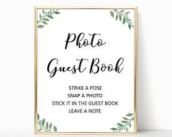 polaroid guest book album polaroid guest book etsy