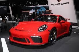 911 Gt3 Msrp 2018 Porsche 911 Gt3 Adds Six Speed Manual Transmission