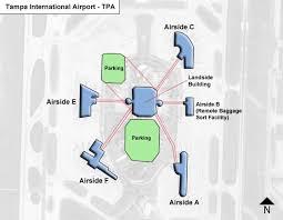 mco terminal map ta tpa airport terminal map