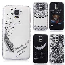 samsung galaxy s5 design aliexpress buy translucent delicate design back for