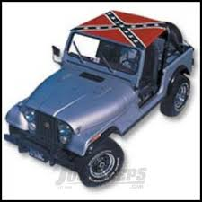 jeep cherokee american flag jeep parts buy vdp koolbreez brief top with confederate flag for