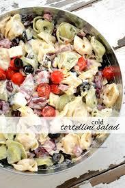 pasta salad recipes cold cold tortellini pasta salad recipe