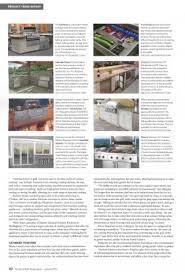 kitchen bath design news kitchen and bath design news features outdoor signature kitchens and