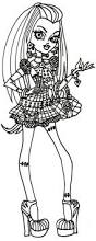free printable monster high coloring pages free frankie stein