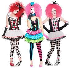 young girls halloween costumes harlequin clowns facepaint girls halloween fancy dress jester