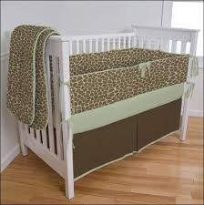 Green And Brown Crib Bedding by Custom Baby Bedding Creations Carousel Designs Blog