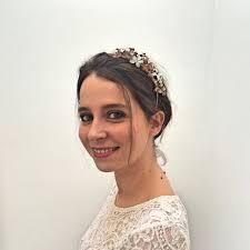 serre tãªte mariage serre tete de mariage 14 serre tête avec fleurs or