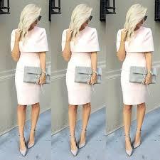 elegant short light pink peach evening dresses with wrap short
