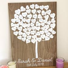 tree signing for wedding tree guest book wedding guestbook rustic wedding guest book