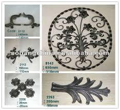china wrought iron fence ornaments wholesale alibaba