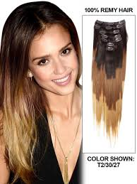 22 inch hair extensions inch clean ombre clip in hair extensions three tone 9 pieces