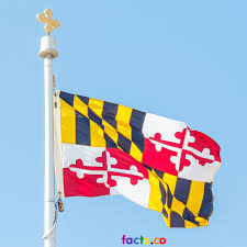 Calvert County Flag Maryland Flag Colors Maryland Flag Meaning