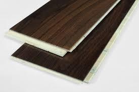 6 plank three layers black walnut engineered flooring