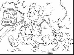 great bus coloring pages with magic bus coloring