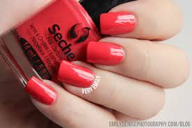 seche nail lacquer review