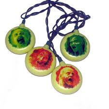 deck your halls with the walking dead holiday ornaments stockings