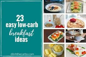 23 easy low carb breakfast ideas easy quick and sugar free
