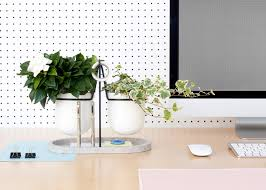plant on desk fabrica s statera desk tidy brings plants into the workplace