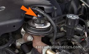 ford ranger egr valve problems part 2 how to test the ford egr valve egr vacuum solenoid dpfe