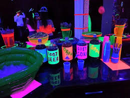 neon party ideas neon party ideas party neon party neon and