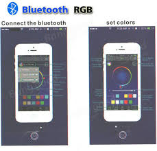led bluetooth controller dimmer by android ios smartphone app for