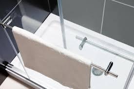 Towel Bar For Glass Shower Door Furniture Charisma Towel Bars 2 Glamorous Shower Door Towel Rack
