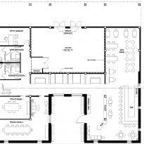 Small Restaurant Floor Plan Open Office Floor Plans Office Floor Plan Templates Crtable