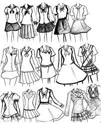 Desain Baju Jepang | menggambar desain baju seragam di jepang best