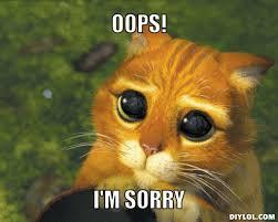 Oops Meme - sorry meme generator oops i m sorry 72129c daniel azwan
