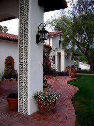 style courtyards style homes in santa barbara california designers