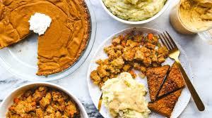 easy vegan thanksgiving dinner in 2 hours