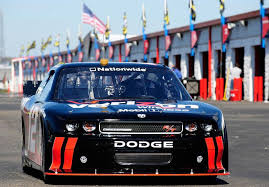 dodge challenger nascar nascar nationwide series car goes through test paces at
