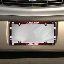 harvard alumni license plate frame harvard license plates harvard crimson license plate