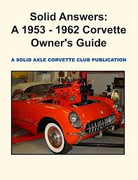 solid axle corvette sacc tech book