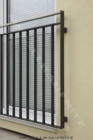 balkon metall die besten 25 balkongeländer metall ideen auf
