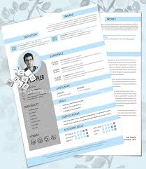 30 free psd cv resume templates cover letters to download