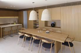 wood dining table lighting kitchen island house in dubrovnik
