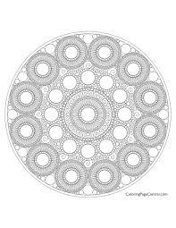 mandala u2013 circle 01 coloring coloring central