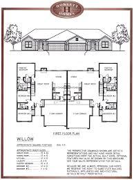 uncategorized bedroom bath floor plan cool willow duplex 3 house