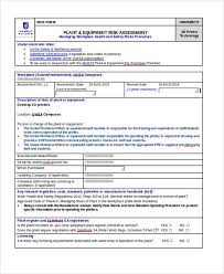 manufacturing risk assessment template risk assessment form sle sle printable coshh risk
