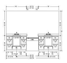 How Tall Is A Standard Bathroom Vanity Bathroom Cabinets Heights Interior Design