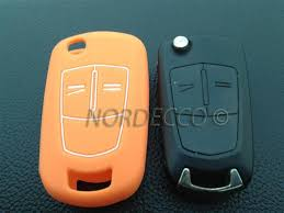 vauxhall orange silicone key fob protector case opel vauxhall corsa astra vectra