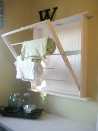 Hanging Clothes Rack From Ceiling Laundry Room Cool Room Furniture Wall Mounted Laundry Drying