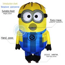 Minions Halloween Costumes Adults Mascot Party Picture Detailed Picture Minions Costume