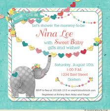 s shower invitations elephant baby shower invitation design graphics